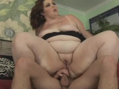 Sexy plumper fucked in her wet shaved pussy movies at find-best-panties.com