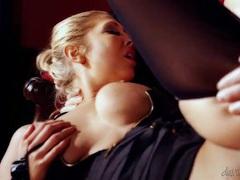 Big naturals are so hot on this hardcore slut videos