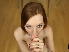 Redhead dazzles in a pov virtual fuck scene movies at sgirls.net
