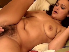 Hairy guy fucks her bush after a great 69 videos