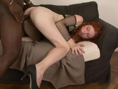 Milky white redheaded beauty boned by a black dick movies at kilotop.com