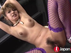Sub in his dungeon fucked by a dildo movies at find-best-pussy.com