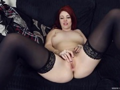 Hot british redhead rubs her clit for you movies at kilopics.net