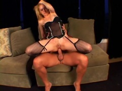 Skinny slut in lingerie pounded in her tight ass movies at find-best-lingerie.com