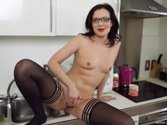 Great joi from a british girl in stockings videos