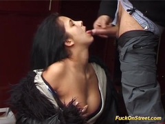 Real fuck on big public street movies at sgirls.net