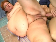 Flabby cunt of a fat whore fucked hard videos