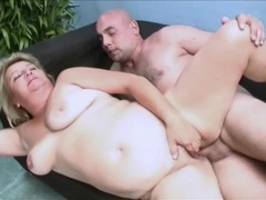 Chunky mature slut fingered and fucked in her box movies at lingerie-mania.com
