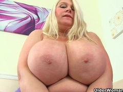 English milf sammy sanders masturbates in fishnets movies at kilopics.net