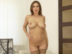 Sultry solo milf has gorgeous ddd titties movies at kilopics.net
