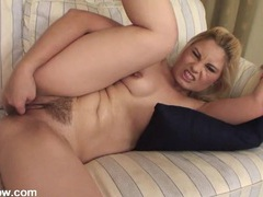 Fingering excites the mommy with small tits videos