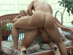 Bent over cougar slut fucked hard from behind videos