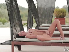 Flawless girl masturbates tenderly outdoors movies at find-best-tits.com