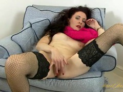 Mature lady takes us inside her lovely pussy videos