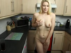 Hottie opens her robe and masturbates for you videos