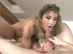 Tight milf asshole rides his big boner erotically tubes