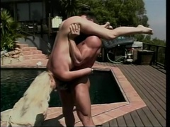 Hot blonde fucked hardcore on the pool deck videos