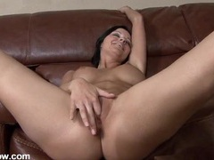 New dildo overstimulates her wet milf pussy videos