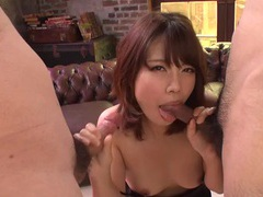 Cutie from asian down on her knees sucking dick tubes at asian.sgirls.net