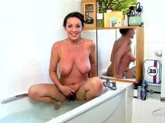 Wet lingerie on a hot milf in the bathtub movies at dailyadult.info