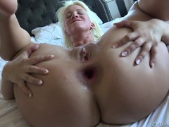Taking the ass of a blonde as she moans for more movies at kilopics.net
