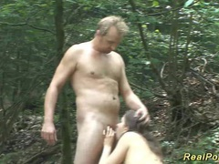 Teen backseat banged in the forest videos