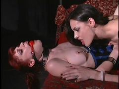 Mistress eats out her sexy latex submissive movies at find-best-babes.com