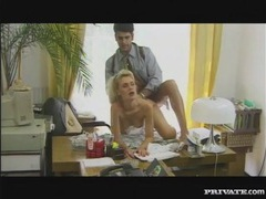 Great vintage bj and ass fucking in an office videos