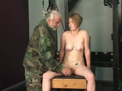 Pretty bound girl willingly suffers for her master tubes