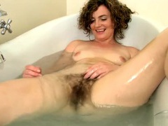 Soapy milf babe with a wonderful big bush movies at kilopics.net