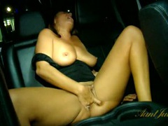 Milfs in a publicly parked car masturbate together movies at kilopics.net