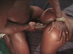 Vintage ebony fuck with bbc buried in her box videos