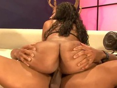 Fit dude and a fat ass black girl get it on movies at sgirls.net