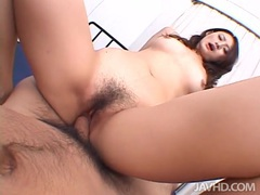 Wet asian cunt grinding all over his dick tubes at asian.sgirls.net