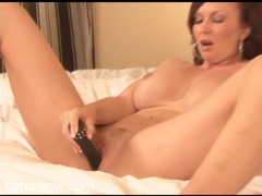 Milf with a clit ring plays with her vibrator movies at sgirls.net