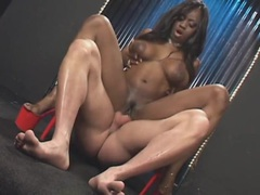 Black stripper chick fucked in all her holes movies at kilosex.com