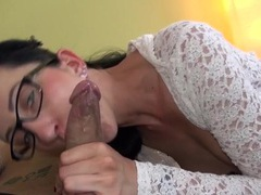 Skinny hottie in a cardigan fucked passionately movies