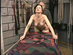 Slut in his dungeon fucked in her juicy pussy videos