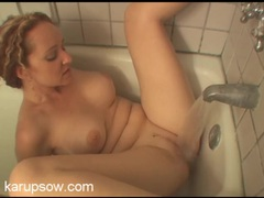 Bath water makes her sexy milf pussy cum movies at sgirls.net