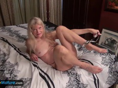 Old granny cindy gone too horny movies at freekiloclips.com