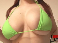 Miniskirt and pigtails on this cute redheaded girl videos