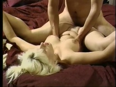 Vintage big ass babe pounded in her hot box clip