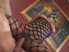 Black girl grinding her pussy on a super thick cock videos