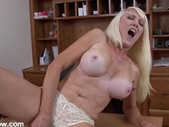 Milky white milf titties on a toy fucking babe movies at find-best-mature.com