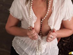 Great downblouse tease from a british milf babe movies at sgirls.net