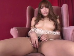 Cutie turns on her vibrator and pleasures her pussy movies