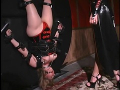 Submissives in latex dominated by their mistress movies at find-best-lingerie.com