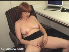 Naked married lady fingers her slippery pussy movies at lingerie-mania.com