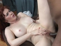 Milky white milf and her black lover get it on movies at kilopics.net