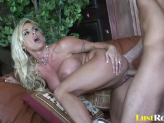 Dirty babe holly halston bends over for screwing tubes